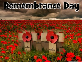 Remembrance Day: Presentation and Activities for teens