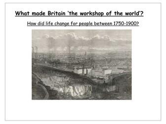 Industrial Revolution scheme of work