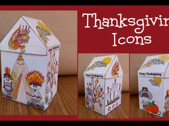 Thanksgiving Crafts - Thanksgiving Icons!
