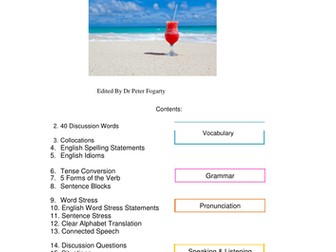 ESL Holidays - Photocopiable Resource Pack for ELT - Ideal for homework, testing, or private study
