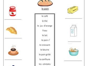 French Food Drink Bundle Worksheets By Labellaroma Teaching