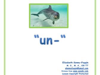 """Know the Code:  Prefix """"un-"""""""