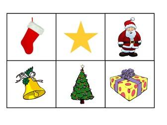 FRENCH ~ CHRISTMAS ~ Noël lotto