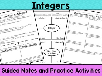 Integers Notes
