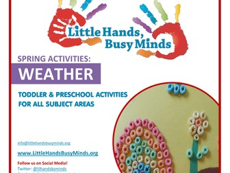 Spring Activities - Weather:  Weekly Thematic Unit