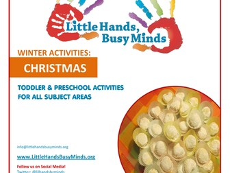 Winter Activities - Christmas:  Weekly Thematic Unit