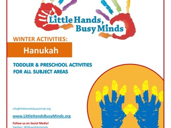 Winter Activities - Hanukah:  Weekly Thematic Unit