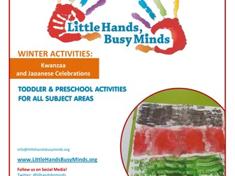 Winter Activities - Kwanzaa and Japanese Celebrations:  Weekly Thematic Unit