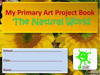 Primary School Art Project Book