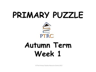 Primary Puzzles - Pack 1