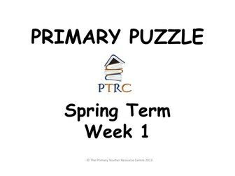 Primary Puzzles - Pack 2