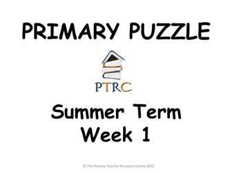 Primary Puzzles - Pack 3