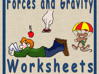 Forces, Science and Gravity STEAM Worksheet
