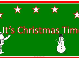 Christmas and Winter Reading and Writing