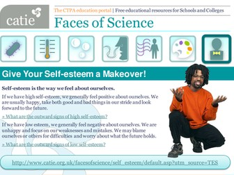 Give Your Self-esteem a Makeover! PSHE web activity