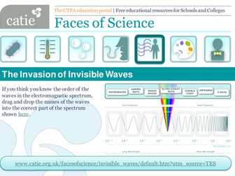 The Invasion of Invisible Waves web activity