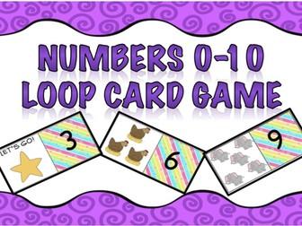 Loop Card Game-Numbers 0-10