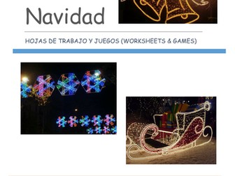 Navidad - Spanish Christmas worksheets, games and flashcards