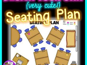 Visual seating plan template