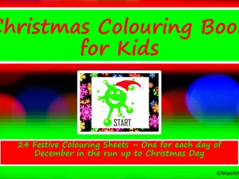 Christmas crafts. Christmas Colouring Book