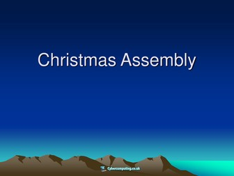 Christmas Assembly - History of the Celebration