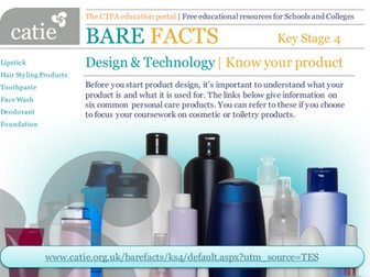 Bare Facts - Design &Technology product design