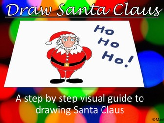 Christmas crafts. Let's Draw Santa Claus!