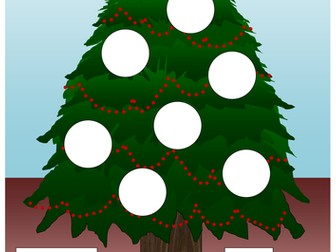 Christmas cut out maths activities - Adding, subtracting, multiplying & negative numbers