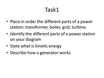 P1 - Generating Electricity and Power Stations