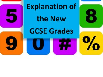 Explanation of new GCSE grades