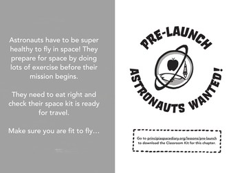 Learn to be an Astronaut with Tim Peake's Principia Space Diary programme