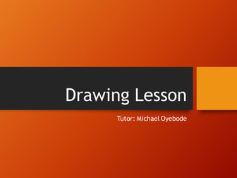 Drawing Methods Lesson