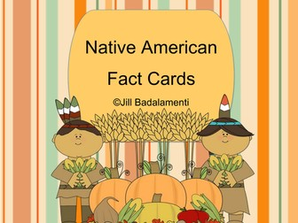 Native American Fact Cards