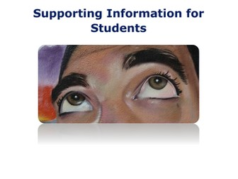 GCSE ART External Task Support Documents 2016