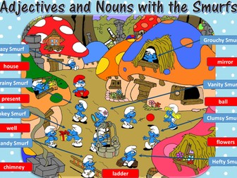 Smurf Nouns and Adjectives