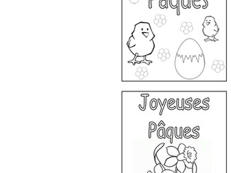 FRENCH - Easter - Les Cartes de Joyeuses Pâques - Cards