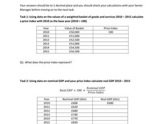 GDP Statistics