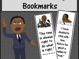 Martin Luther King, Jr. Bookmarks
