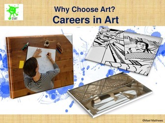 Careers in Art and Design. Updated for 2017-18