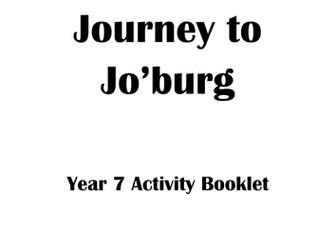 Journey to Jo'burg Activity Booklet