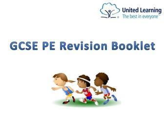 AQA GCSE PE Revision Booklet all topics
