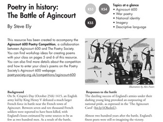 Poetry in History: The Battle of Agincourt