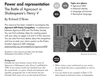 Power and Representation - The Battle of Agincourt in Shakespeare's Henry V