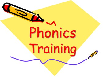 Phonics training for staff