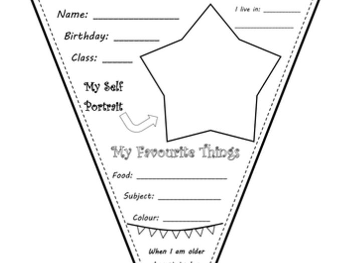 All About Me Worksheet Middle School   ABITLIKETHIS