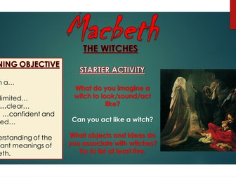 Macbeth: The Witches
