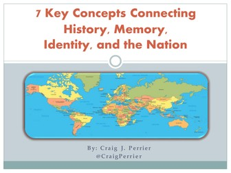 7 Key Concepts Connecting History, Memory, Identity, and the Nation