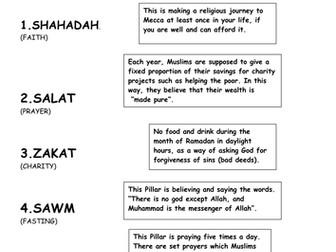 Islam: 5 Pillars