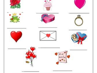 FRENCH ~ La Saint Valentin ~ Activities