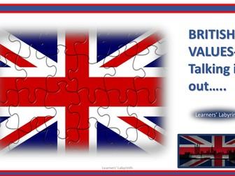 British Values- Discussion Cards